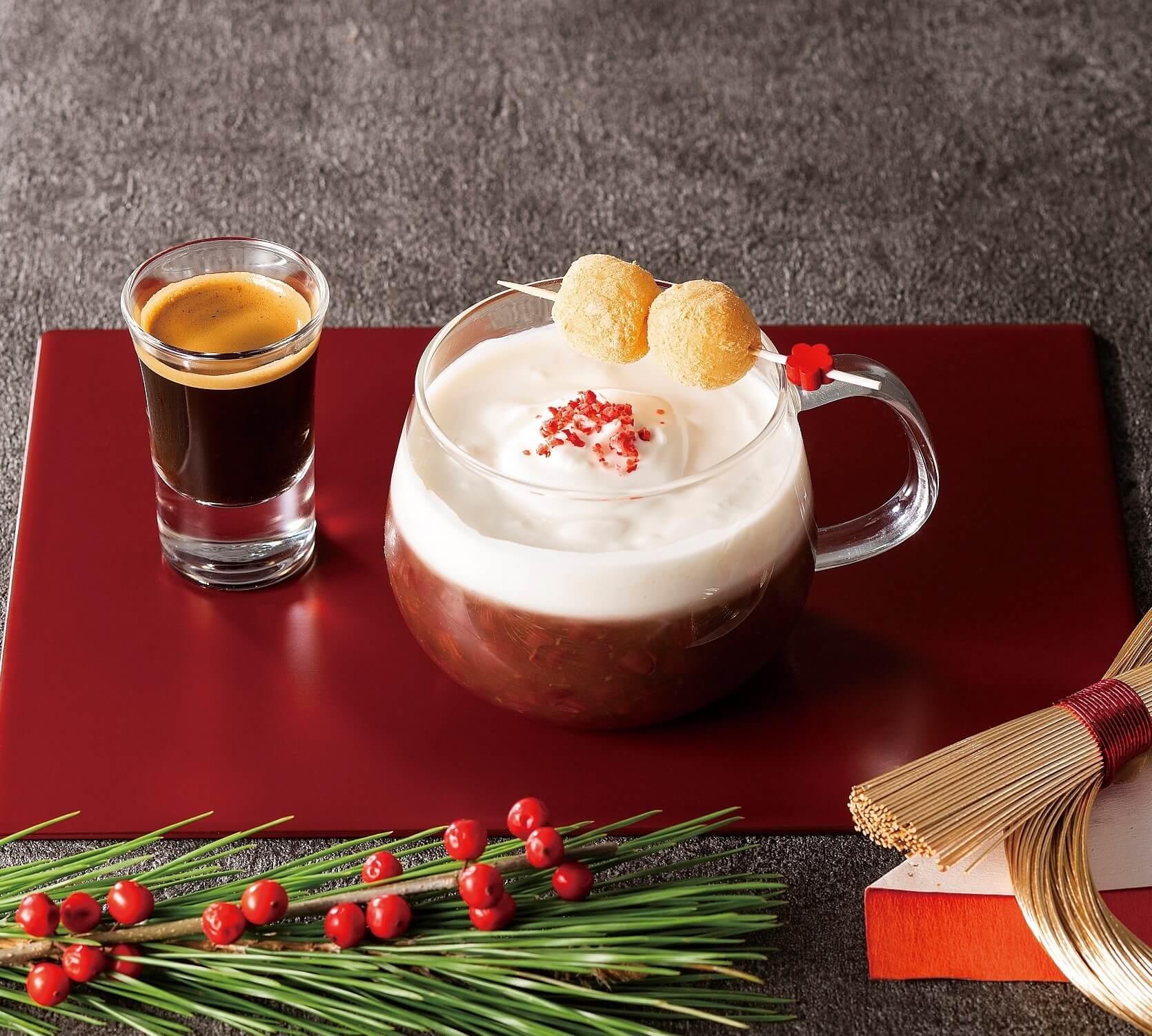 Segafredo「濃縮咖啡奶油善哉」期間限定販售 甜點、