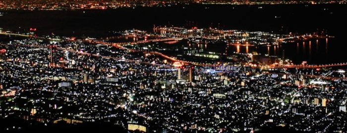神戶景點-摩耶山掬星台