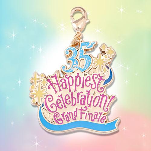 日本迪士尼 35 週年 Time of Celebration 歡慶之時掛飾吊飾