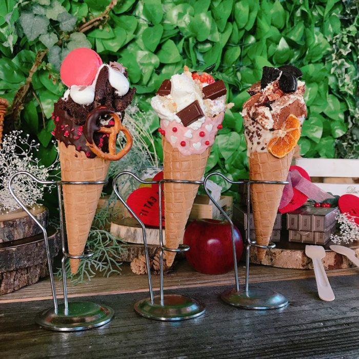 季節限定甜點系列