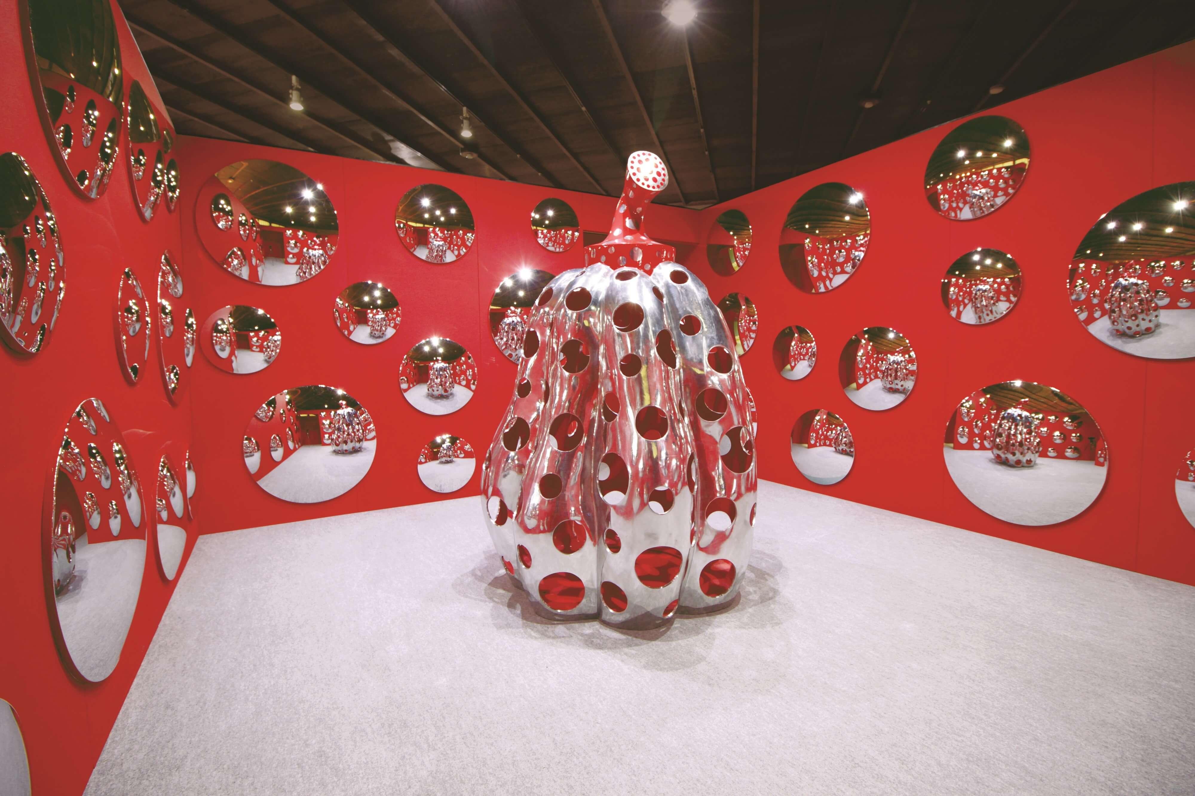 正在舉行「草間彌生 永遠的南瓜展」的京都祇園「FOREVER現代美術館」將於2月閉館 在京都、藝術、