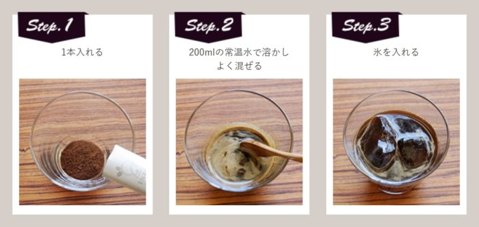 冰咖啡沖泡方式