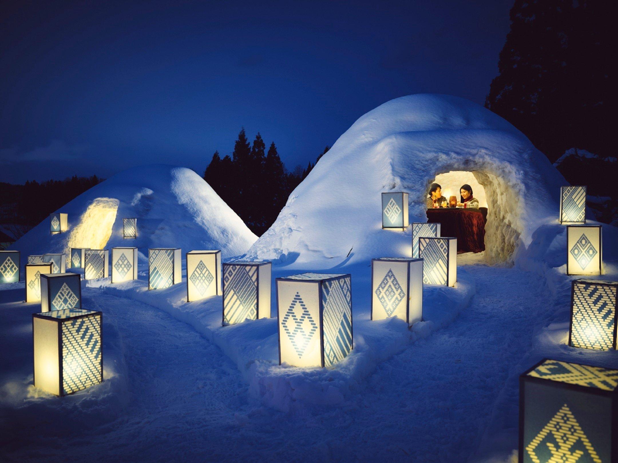 星野集團於界津輕、界阿爾卑斯舉辦「雪洞」開運活動 在長野、在青森、日本旅行、日本觀光、