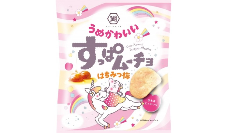 讓人吃了還想再吃的果香風味「すっぱムーチョ可愛梅子 蜂蜜梅子」發售 菓子、
