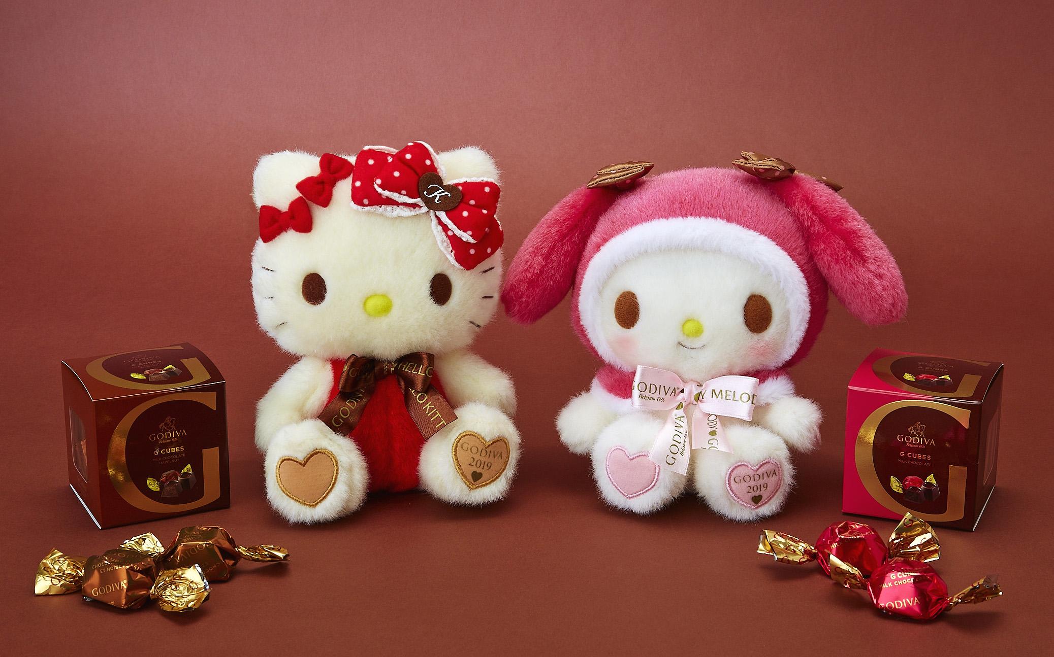 GODIVA將與Hello Kitty、美樂蒂合作特別贈禮 並於三麗鷗店舖限定發售 凱蒂猫、美樂蒂、