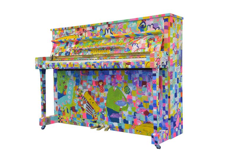 流行的設計為標記! 任何人都可以自由彈奏的鋼琴在JR品川站登場 在品川、