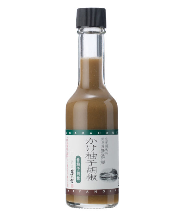 茅乃舍高湯柚子胡椒醬