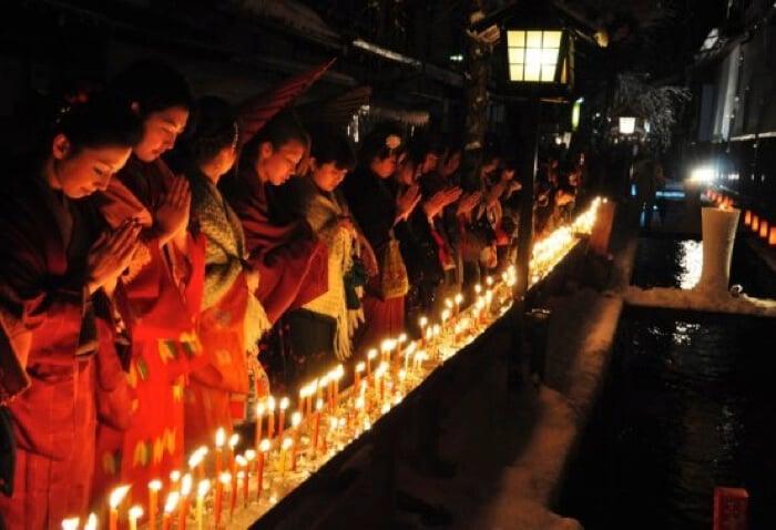 岐阜縣飛驒古川將舉辦超過200年以上的迷幻冬季「三寺參拜」活動 在岐阜、