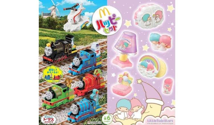 成為話題超級可愛的Kiki Lara&Thomas! 受到注目的麥當勞的快樂兒童餐 KikiLala、湯瑪士小火車、麥當勞、
