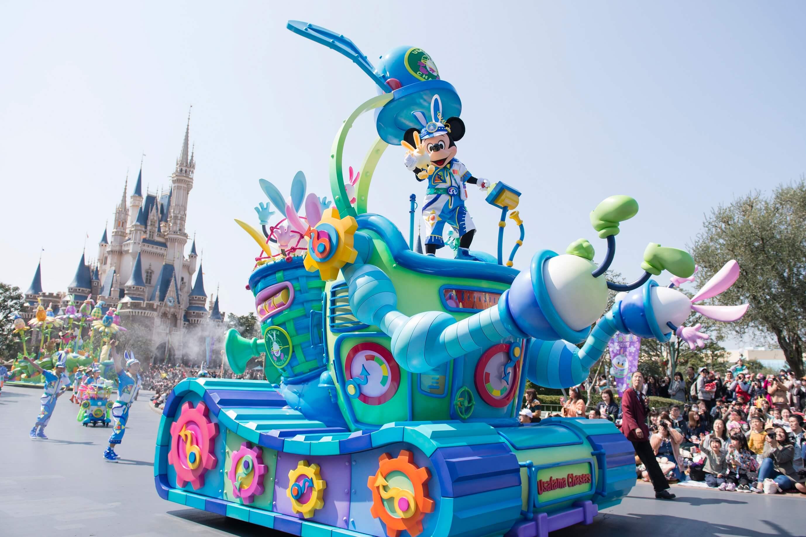 「兔子蛋」大逃脫即將展開!東京迪士尼復活節追逐戰登場 東京迪士尼樂園、東京迪士尼海洋、