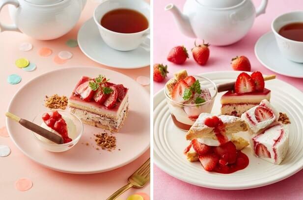 Pocky第一間官方聯名咖啡廳!從下午茶到草莓甜點均有作販售 甜點、