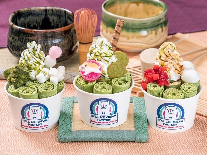 「ROLL ICE CREAM FACTORY」全店將舉行抹茶冰祭典 抹茶_、