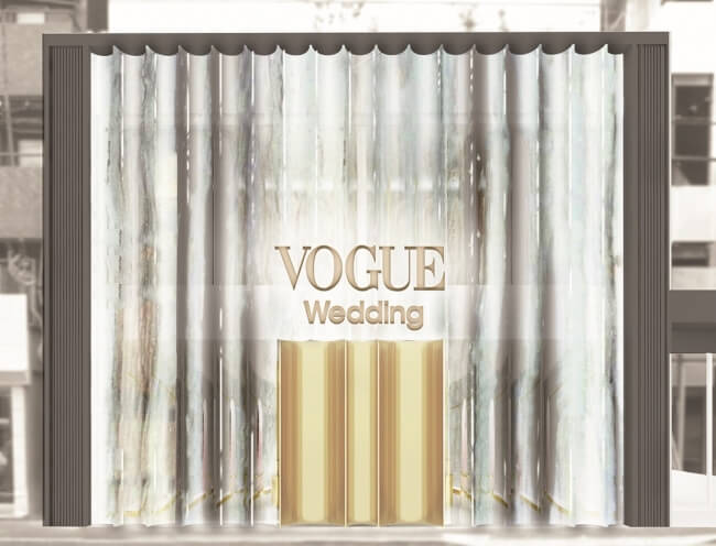 全世界第一間「VOGUE」禮服店舖「VOGUE Wedding Salon」在表參道開幕 在表参道、