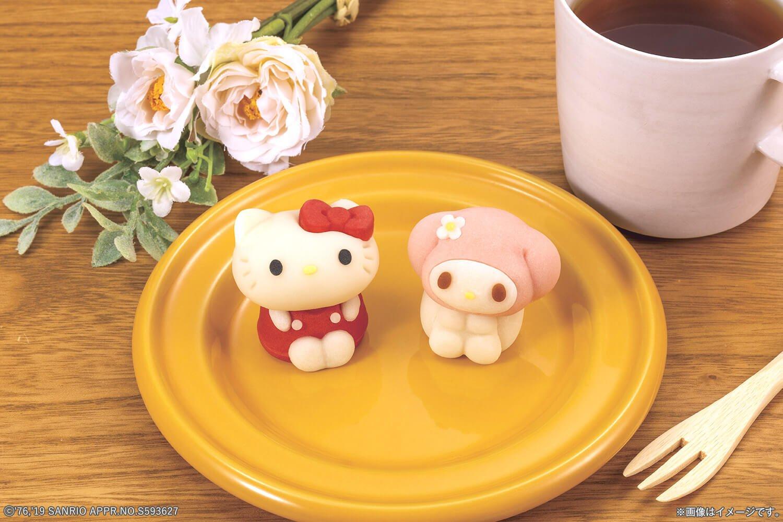 變成Hello Kitty和美樂蒂「食べマス(可以吃的角色吉祥物)」點心初次登場!在LAWSON販賣 凱蒂猫、甜點、美樂蒂、