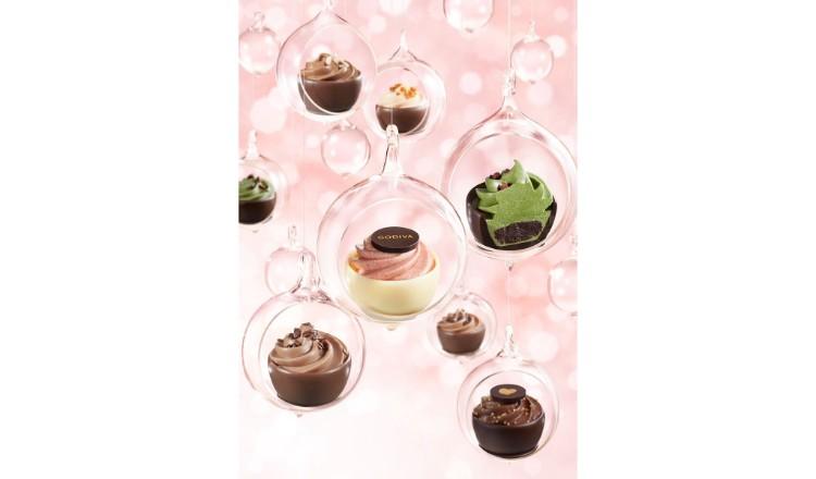 像妖精一樣的fairy cake登場♡GODIVA的情人節Collection2019 甜點、