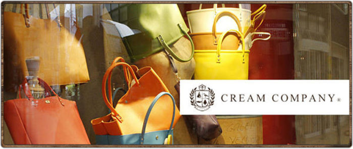 日本必買手工皮革包包_cream company kyoto