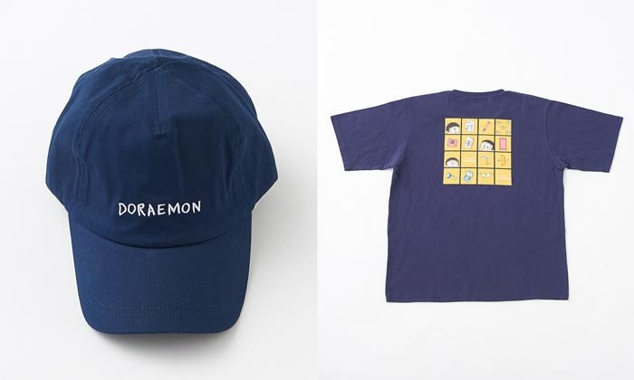 哆啦A夢刺繡帽子 T-shirt