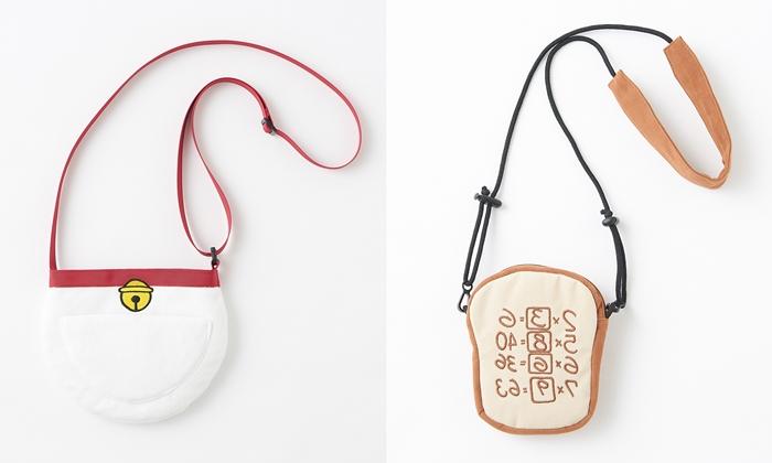 哆啦A夢四次元空間袋隨身背袋 記憶吐司隨身背袋