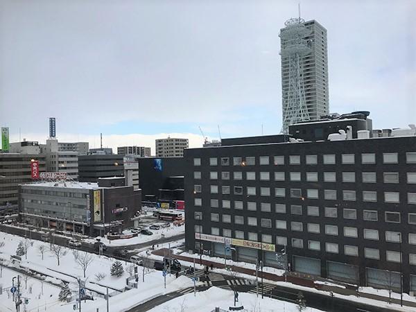 札幌電視台景觀