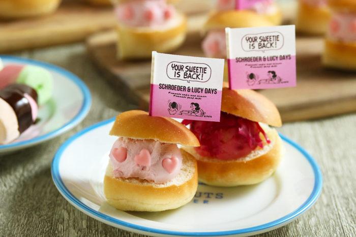 PEANUTS橫濱店限定甜點