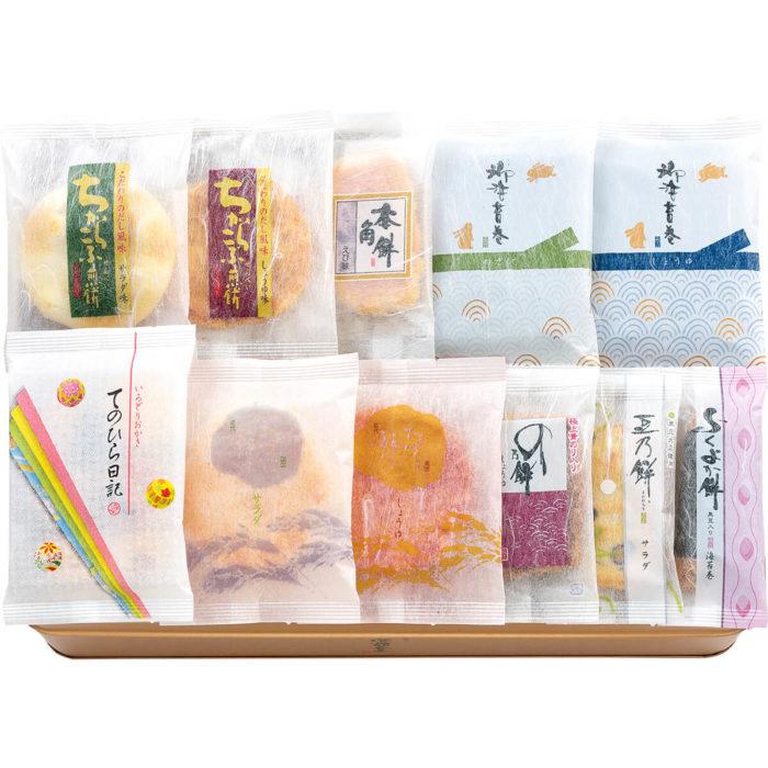 特選綜合米菓內部包裝示意照