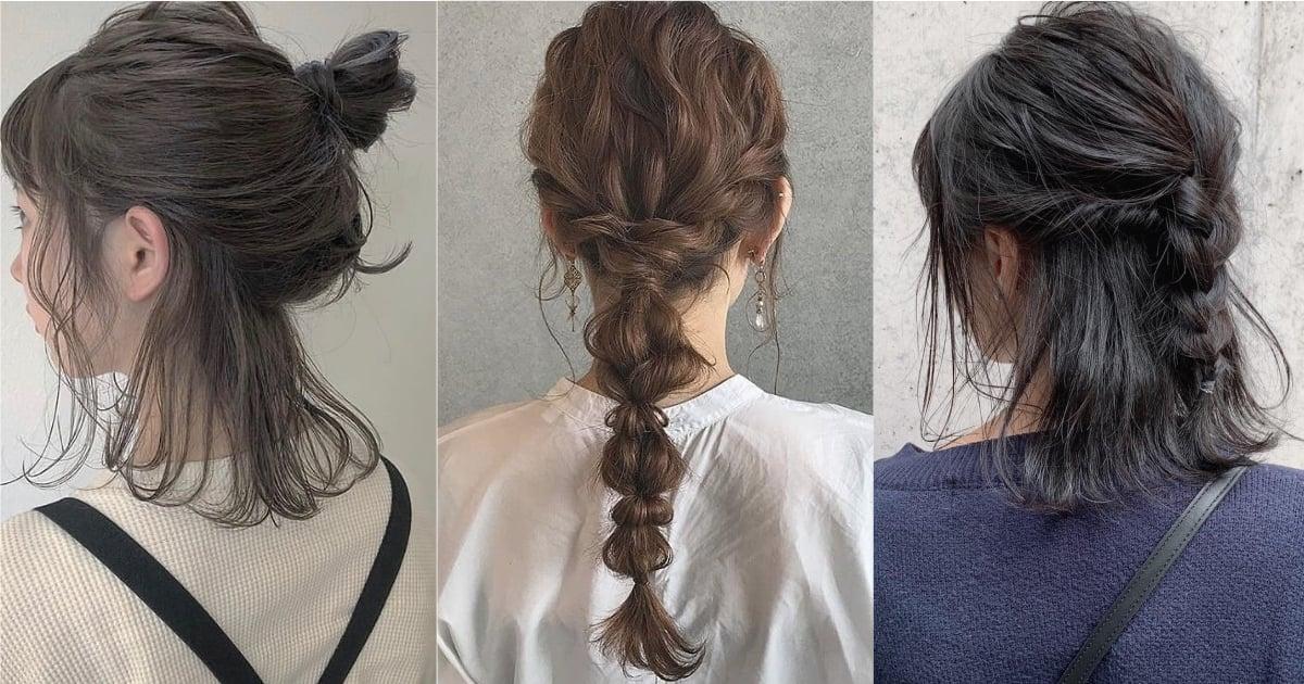 不一般卻好簡單!短、中長、長髮都能參考的情人節編髮教學
