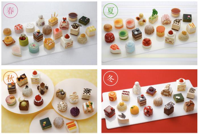 2019京都必吃甜點_malebranche_四季限定小蛋糕