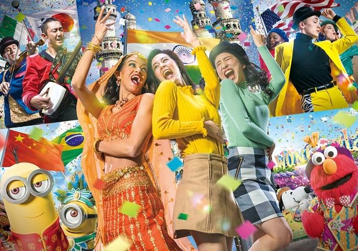 2019日本環球影城世界■ ■ 街頭慶典