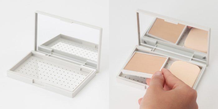 無印良品彩妝盒-Ssize