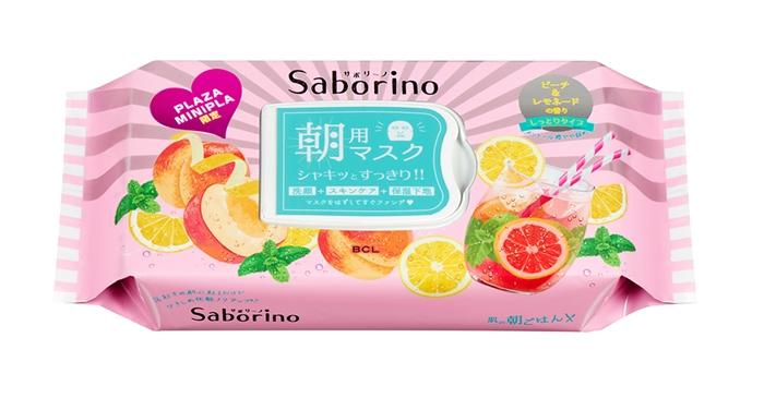 SABORINO 早安面膜 白桃檸檬香(PLAZA・MINiPLA限定)