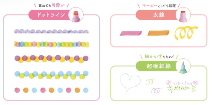 2019日本必買文具_蜻蜓牌_玩色雙頭筆_點頭_使用方式