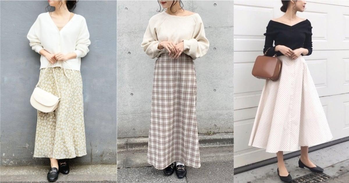 大人味還是女孩感?花色長裙穿搭你想穿筆記的是哪一款 長裙、 穿搭、 大人