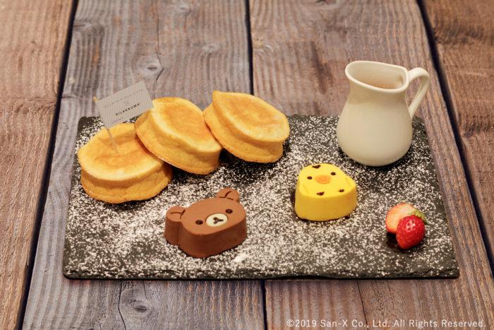 懶懶熊小雞瑞可塔乳酪鬆餅
