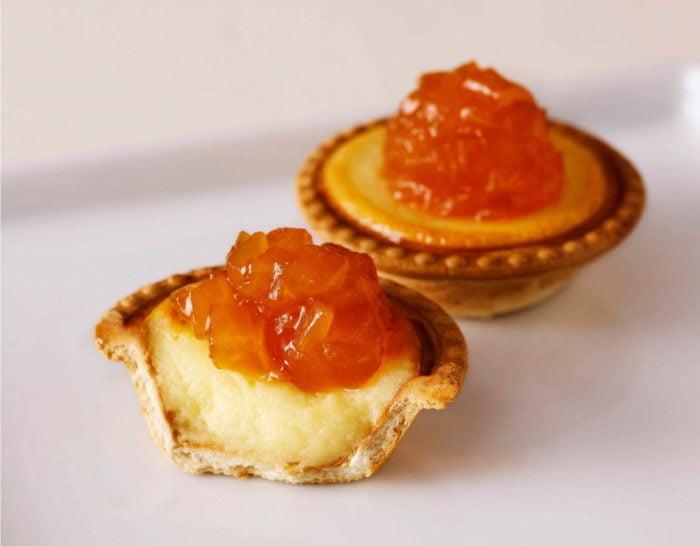 烤蘋果蜂蜜起司塔