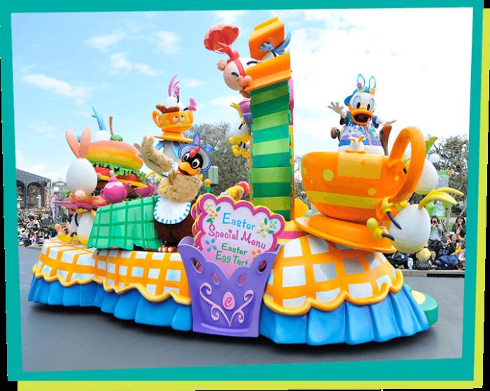2019東京迪士尼樂園遊行