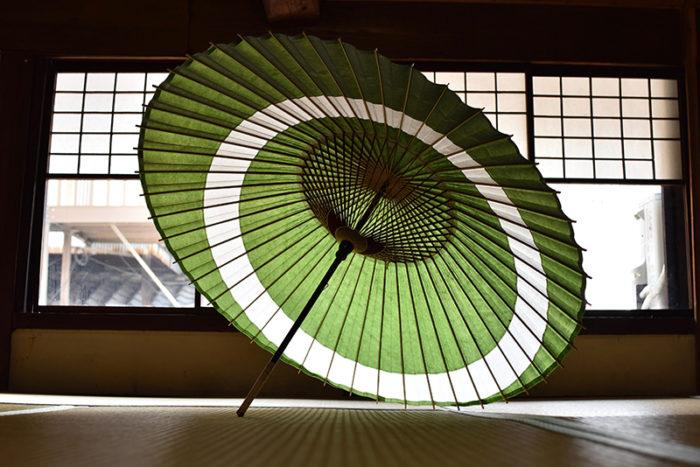 傘日和_蛇の目傘_月之輪