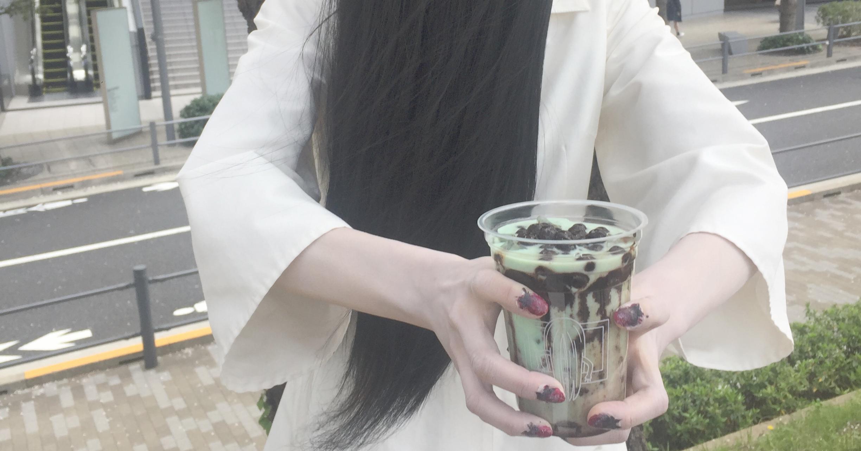 貞子-薄荷巧克力珍珠奶茶