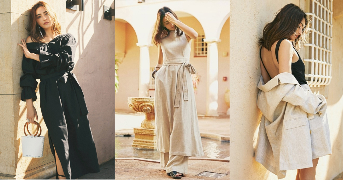 一派輕鬆的簡約摩洛哥風情,日牌 Ungrid 春夏系列由長谷川潤摩登展演