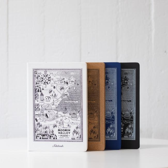 Moomin by Mozo嚕嚕米樂園限定紀念商品 A5筆記本