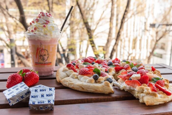 MAX BRENNER CHOCOLATE PIZZA BAR聯名菜單