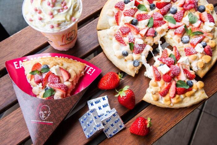 莓果起司披薩