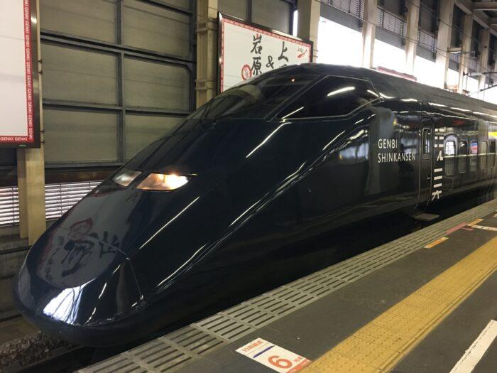 現美新幹線車頭