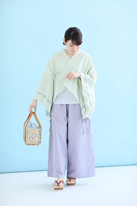 sousou_麻きさらぎ袖括り_Hemori Hiragari Sleeve Bag (Sleeved)