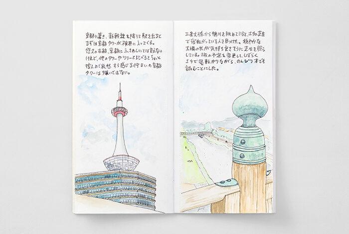 TRAVELER'S notbook Refill Watercolor Paper/リフィル水彩紙