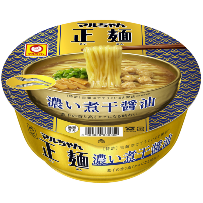 MARUCHAN正麵 濃厚煮干醬油