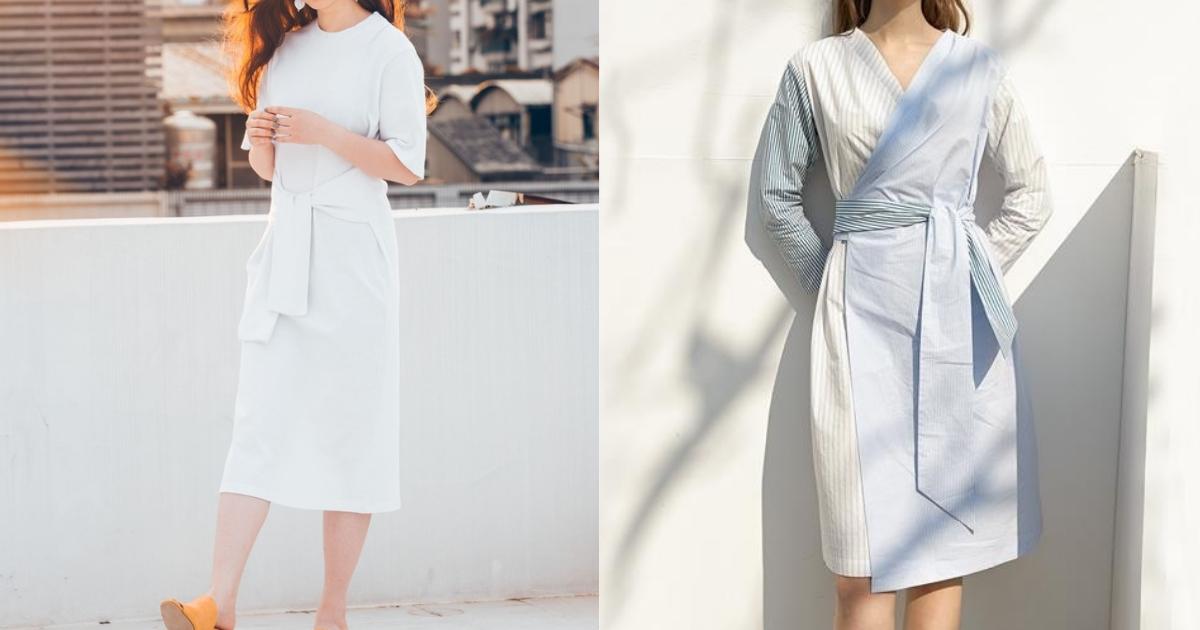 只想隨興穿搭的炎熱夏季,就以輕鬆感洋裝連結休閒的慵懶美感