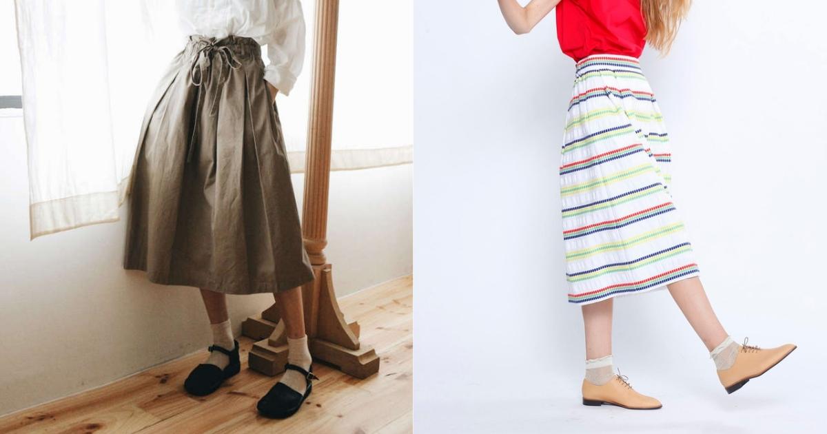 夏天裙裝挑選要點就是「空氣感」!最有小姐姐氣質的中長裙一次入手