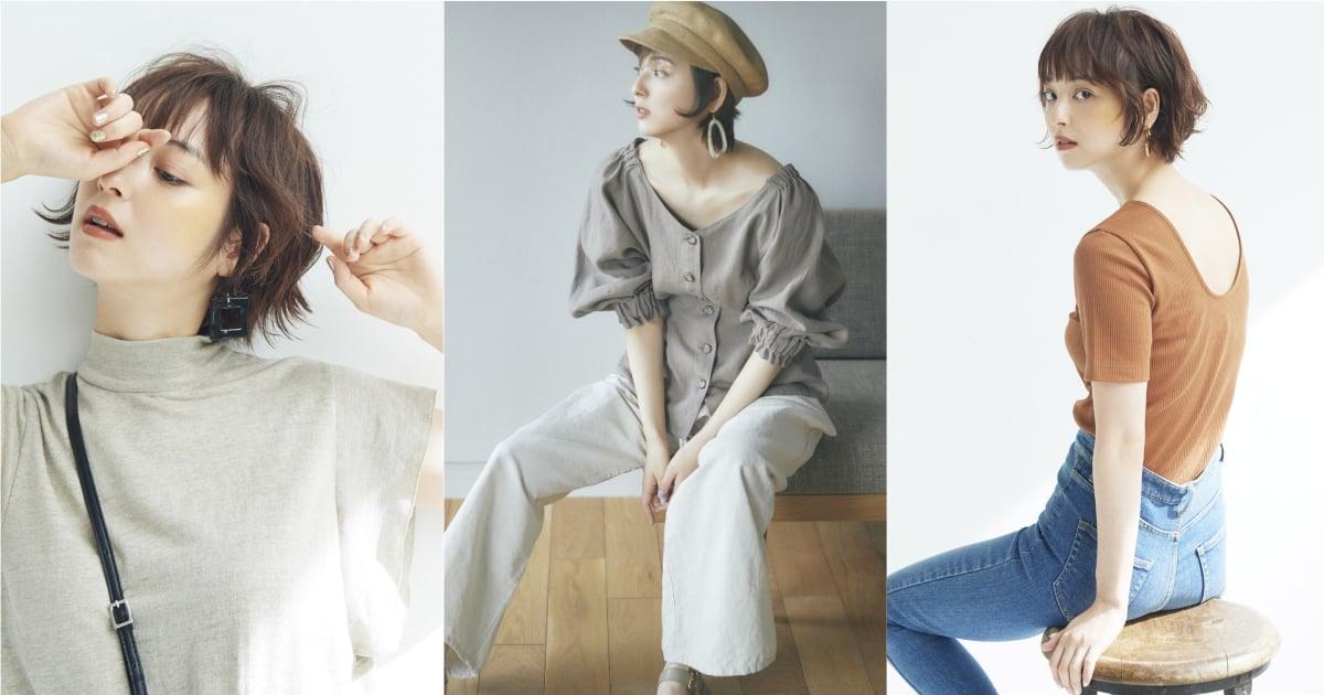 當了媽媽依然還是最美的穿搭範本!佐佐木希親自演繹主理品牌iNtimite夏季系列