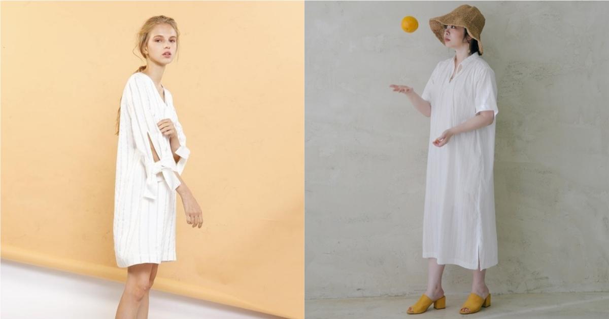 不僅清爽還可以快速著裝!高溫炎夏就用白色洋裝展演好感穿搭