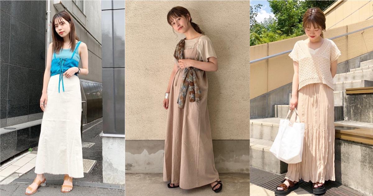 一件上衣完成造型太無趣!日本女生夏季的 4 個「輕層次」技巧快筆記下來